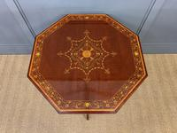 Edwards & Roberts Inlaid Mahogany Centre Table (11 of 15)