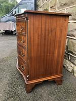 Antique Mahogany Serpentine Chest of Drawers (3 of 9)