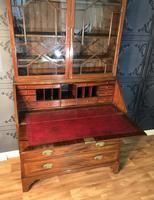 Georgian Mahogany Bureau Bookcase (13 of 17)