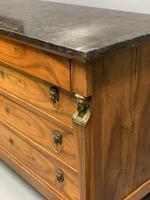 French Empire Commode with Marble Top (8 of 12)