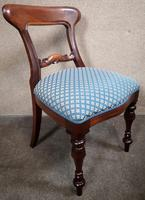Set of Six Mahogany Dining Chairs In The Victorian Style (5 of 10)