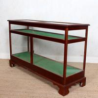 Shop Display Cabinet Glazed Mahogany 19th Century Glass (8 of 8)