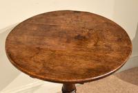 18th Century Oak Tripod Table (5 of 5)