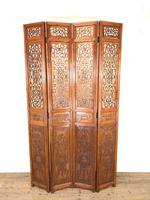 Chinese Elm Carved Screen (2 of 13)