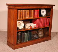 Open Bookcase from England in Walnut 19th Century (8 of 8)