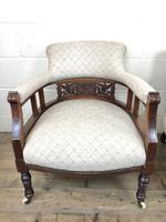 Pair of Victorian Mahogany Tub Chairs (10 of 17)
