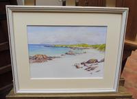 Watercolour White Strand Iona Artist Joyce Dalgety (3 of 10)