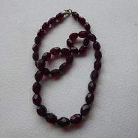 Cherry Red Bakelite Bead Necklace (6 of 7)