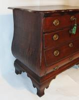 Dutch Oak Bombe Chest of Drawers (7 of 9)
