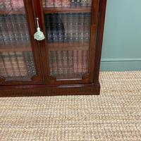 Stunning Quality Victorian Glazed Mahogany Bookcase (7 of 7)