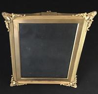 Good Quality Gilt Brass Edwardian Easel Photo Frame (2 of 4)