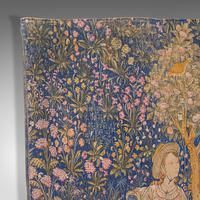 Large Antique Tapestry, French, Needlepoint, Decorative Wall Covering c.1920 (7 of 12)