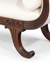 Mahogany Framed Regency Period Sofa (6 of 6)
