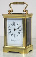 Antique Miniature 8 Day Carriage Clock by Walters & George Regent Street Rare (5 of 14)