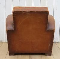 1930s French Leather Club Chair (10 of 13)