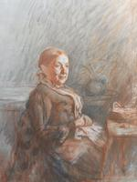 Victorian pastel portrait of grand mam artist Dodd (Free shipping to Mainland England) (10 of 10)