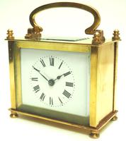 Fine Antique French 8-day Rectangle Carriage Clock Mantel Timepiece c.1890 (9 of 10)