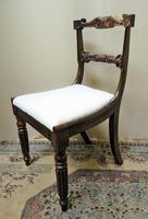 Set of 6 William IV Rosewood Dining Chairs (5 of 9)
