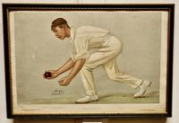 """Collection of 4 Vanity Fair Cricketing  Themed """"Spy""""Prints (4 of 11)"""