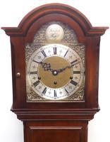 Grandmother Clock English Elliott Musical Longcase Clock with Dual Chimes c.1930 (9 of 16)