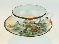 Beautiful Hand Painted Japanese Eggshell Porcelain Tea Set c1905 (9 of 17)
