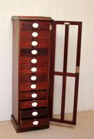 Unusual Mahogany Filing Cabinet (3 of 11)