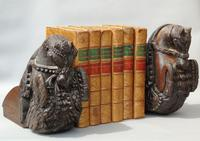 Good Pair of 18th Century Indian Carved Horse Head Bookends (5 of 9)