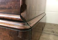 Large Victorian Single Door Mahogany Wardrobe with Mirror (8 of 11)
