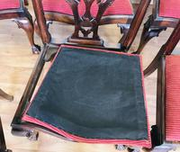 Set of Eight Oversized Dining Chairs (7 of 18)