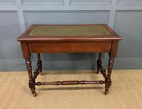 Good Late Victorian Mahogany Writing Table (4 of 14)