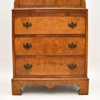 Antique Burr  Walnut Chest on Chest of Drawers (5 of 11)