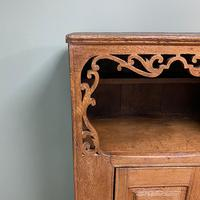 17th Century Oak Country House Antique Cupboard (7 of 7)