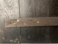 Victorian Oak Linen Chest (12 of 17)