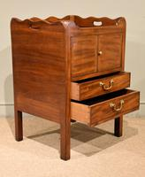 Mahogany Late 18th Century Bedside Cupboard (3 of 8)