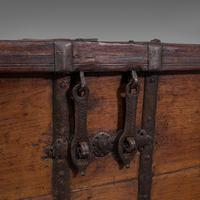 Antique Merchant's Chest, Oriental, Solid Teak, Trunk, William III c.1700 (10 of 12)