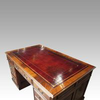 George V Mahogany Pedestal Desk (13 of 13)