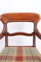 Victorian Mahogany Desk Chair / Open Armchair (8 of 13)