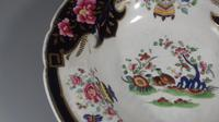 Georgian Chamberlains Worcester Large Imari Porcelain Rimmed Soup Dish (13 of 14)
