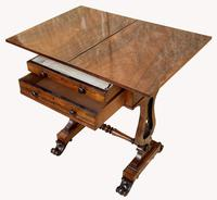 Lovely William IV Rosewood Card & Work Table (4 of 9)
