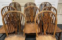 Harlequin Set of 8 18th Century Windsor Dining Chairs (6 of 15)