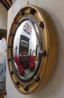 Butlers Porthole Fish Eye Convex Wall Mirror (2 of 8)