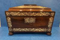 Regency Rosewood Twin Canister Tea Caddy (2 of 23)