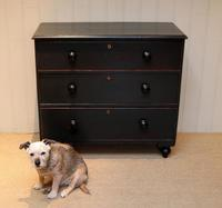 Victorian Painted Chest of Drawers (4 of 10)
