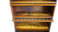Good Quality Mahogany Globe Wernicke Sectional Glazed Bookcase (18 of 29)