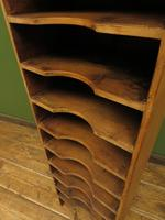 Antique Narrow Pine Pigeon Holes, Stationery or Haberdashery Display Shelves (8 of 10)