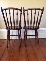 Pair of Antique Thonet Style Bentwood Chairs (5 of 14)