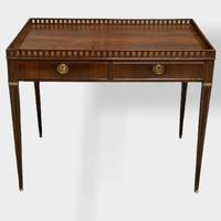 18th Century Mahogany Silver Table (4 of 11)