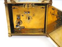 Interesting Antique French 8-day Carriage Clock Rectangle Design (9 of 9)
