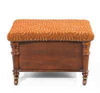 Late Regency Period Mahogany Coal Padrone with a Lift Lid (3 of 3)