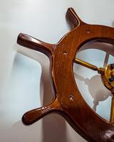 Brass & Oak Yacht Wheel (5 of 6)